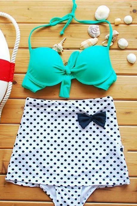Gather With A Chest Piece S Padded Waist Cute Swimsuit Split