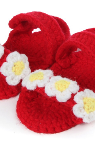 Hand-woven Soft bottom baby shoes flower infant shoes toddler shoes Photography Props shoes