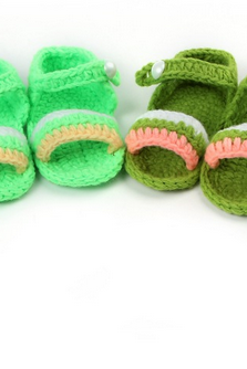 New Hand-woven Soft bottom baby shoes infant shoes toddler shoes Photography Props shoes