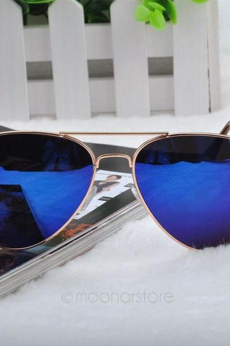 Summer Pilot Fashion Aviator Woman Sunglasses