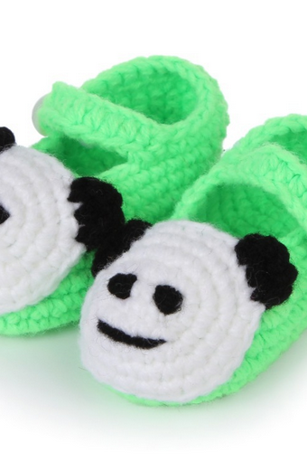 Panda Hand-woven Soft bottom comfortable baby shoes infant shoes toddler shoes Photography Props shoes