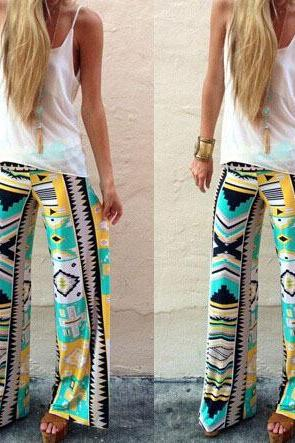 Printed Women trousers