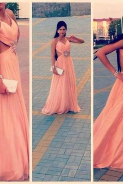 Design Backless Prom Dresses, The Charming Evening Dresses, Prom Dresses 2015, Prom Dresses On Sale,Formal Prom Dresses