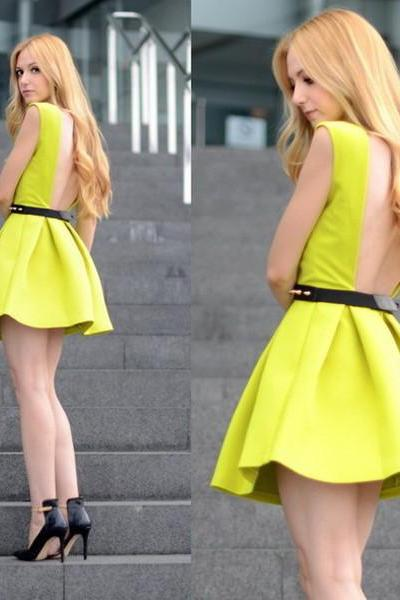 FASHION CUTE SHINING DRESS