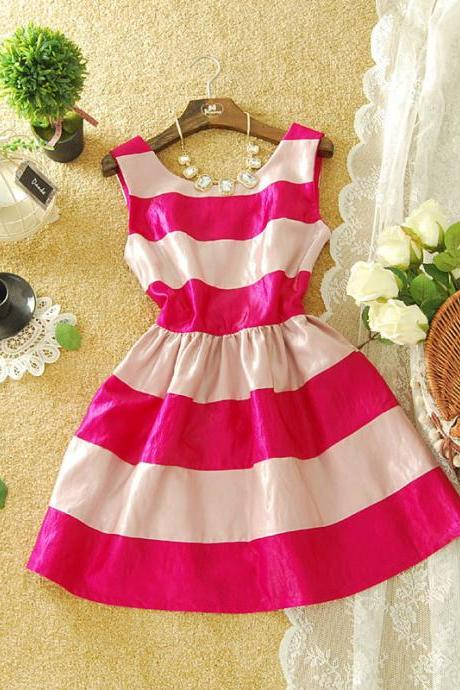 COLORFUL GRAIN ELEGANT SHINING DRESS
