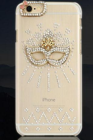 mask Bling Crystal Case iPhone 6 plus case,iphone 6 case , bling iPhone 6 cover