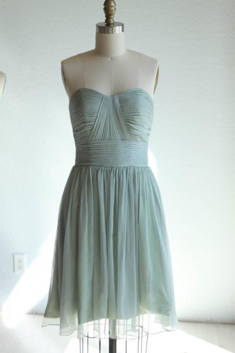 2015 new Bridesmaid dress, Sweetheart Strapless dress Wedding dressFormal dress Prom dress (B013A)