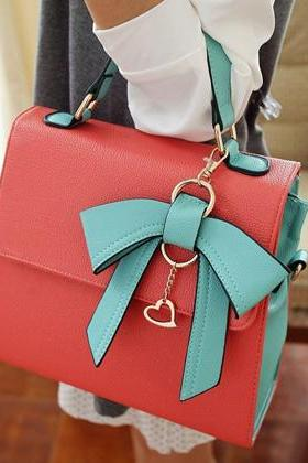 Cute Bow Charmed Tote Bag
