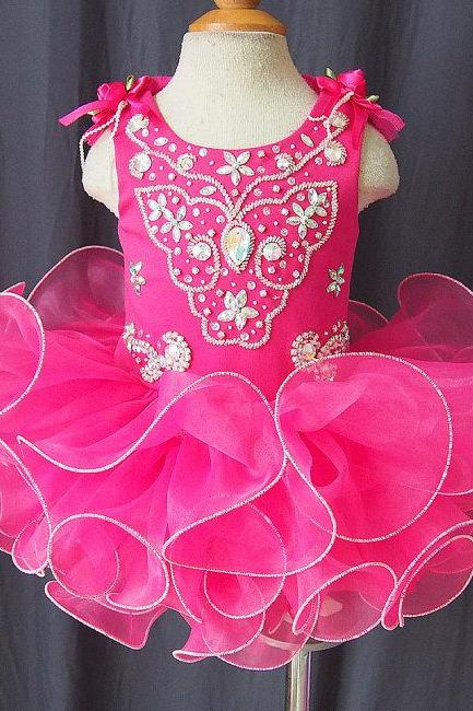 lafine FD07228c flower girl dress with beading full handmade