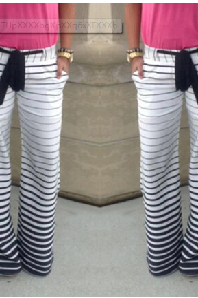 Striped Comfortable Jogging Pants