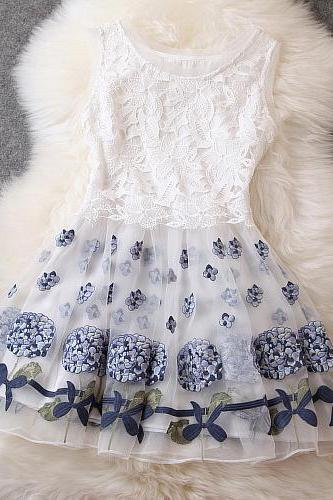 Elegant organza dress