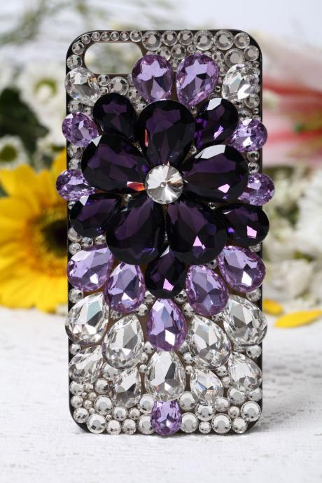 iPhone 6 case, iPhone 6 Plus case, iPhone 5s case, iPhone 5 case, bling wallet case for samsung galaxy note 4 note 4 edge s6 s6 edge s5 s4 s3, Flower bling phone case