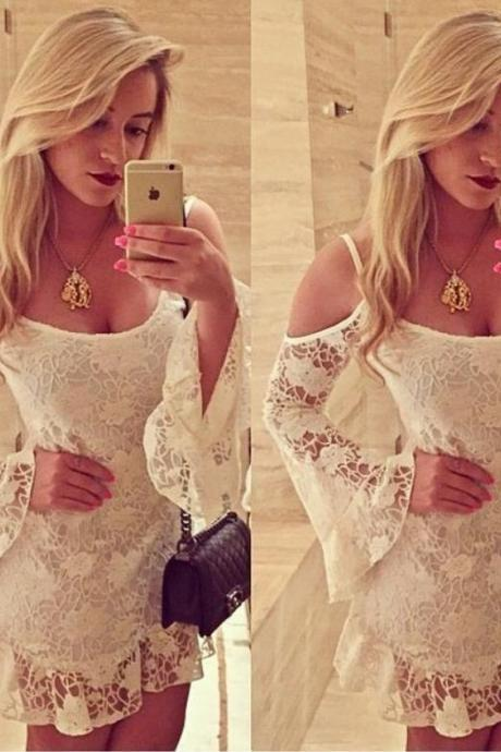 CUTE LACE HOT DRESS HIGH QUALITY