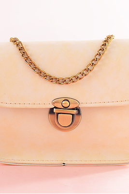 A summer bag chain bag mini small bag lady Small Bag Satchel diagonal single shoulder bag(Color: white)