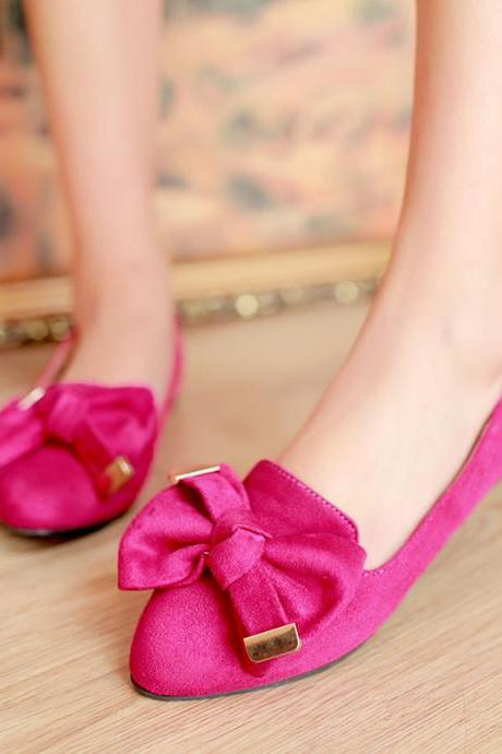 Bow Flat Shoes Sandals