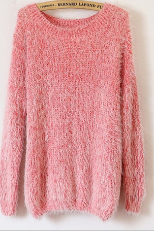 Fashion Loose Mohair Sweaters