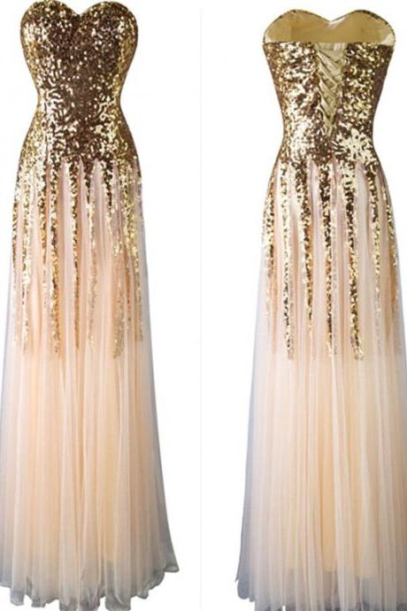 New Arrival Beading Charming Prom Dresses,The Elegant Sweetheart Floor-Length Evening Dresses, Prom Dresses, Real Made Prom Dresses On Sale,