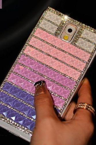 Purple pink bling iPhone 7 Plus, iPhone 6 6s case, iPhone 6 6s Plus case, iPhone 5s SE case, iPhone 5c case, bling wallet case for samsung galaxy note 4 note 5 s7 edge s6 edge s5