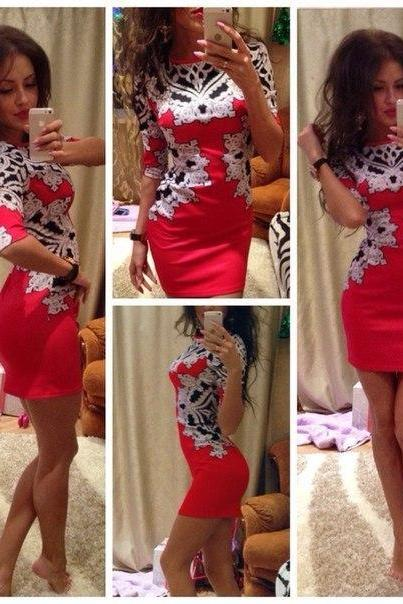 Sexy Women Summer Bodycon Slim Casual Party Evening Cocktail Short Mini Dress
