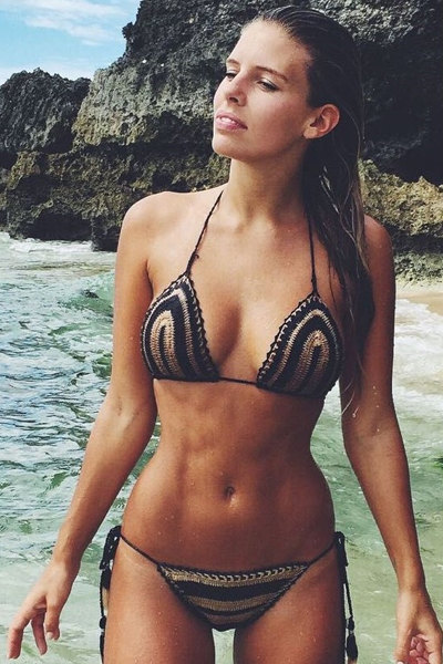 Sexy Two Piece Crochet Swimwear