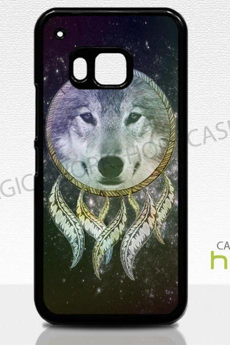 HTC One M8 M9 Case, Dreamcatcher Wolf
