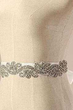 S007 best pad seal Handmade beaded is shining diamond Multicolor custom The bride wedding dress belt