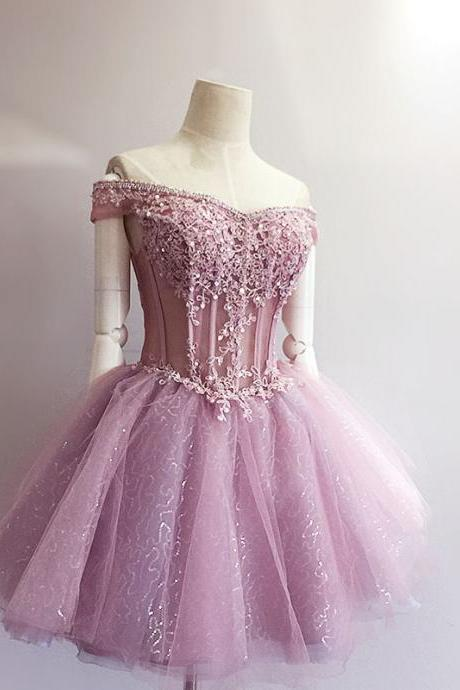 Hd08131 Charming Homecoming Dress,Appliques Homecoming Dress,Organza Homecoming Dress, Short Homecoming Dress