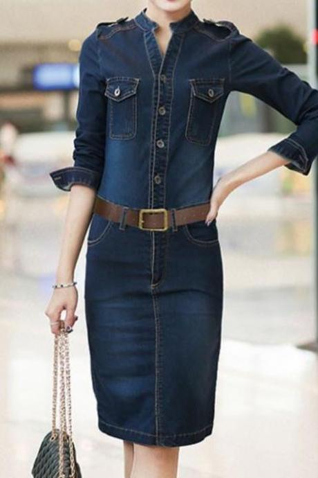Denim Dress for Women