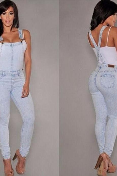 Fashion cotton cowboy Jumpsuits 3441876