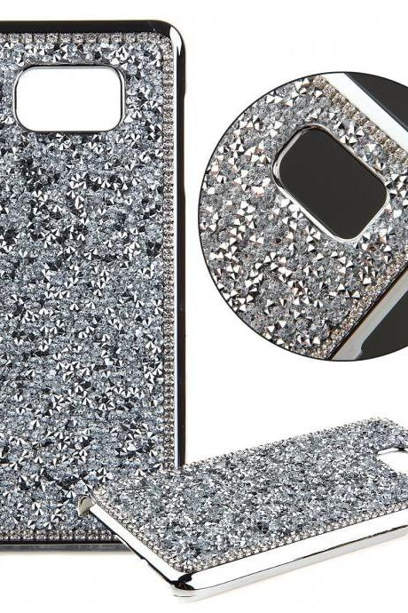 Luxury Bling Crystal Metal Samsung Galaxy Note 5 case,Bling Metal Samsung Galaxy Note 5 Case Cover,Luxury Bling Crystal Samsung Galaxy Note 5 Edge Case,Luxury Metal Bling Crystal Samsung Galaxy Note 5 Edge case cover Silver