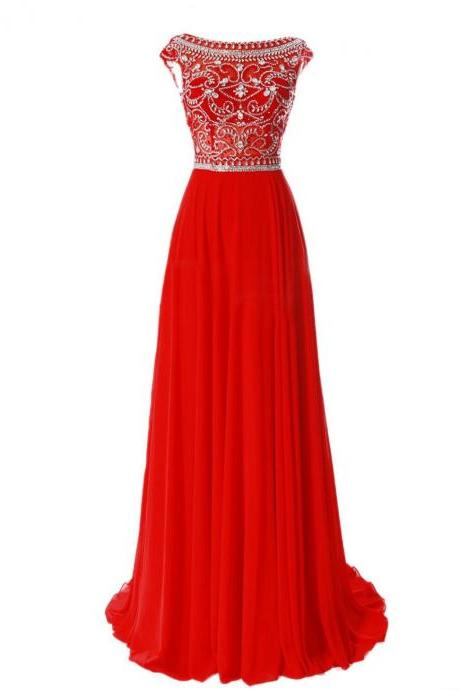 2015 New Hot prom dresses Elegant Floor Length Bridesmaid Cap Sleeve Prom Evening Dresses Prom Gowns