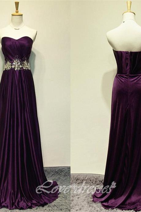 Prom Dresses Sweetheart Coollar Evening Dress Party Dress Graduation Gown Prom Gown S188