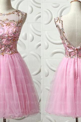 sexy modest homecoming dresses, pink homecoming dresses , junior homecoming dresses, juniors homecoming dresses, CM560