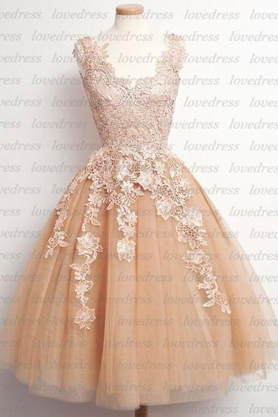 lace homecoming dresses, short homecoming dresses, off shoulder pieces homecoming dresses, cheap homecoming dresses, prom dress online, CM590