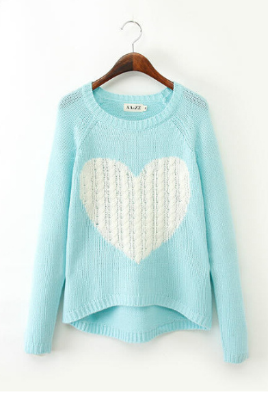 Elegant long-sleeved knit sweater DX9509dx