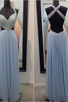 Sexy Long prom dress Beading Prom Dress Elegant Women dress,Party dress Evening Dress L072
