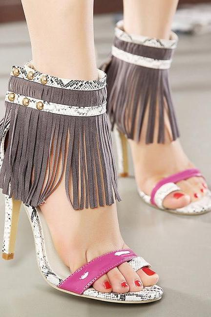 Summer Fashion Women Sexy High Heels