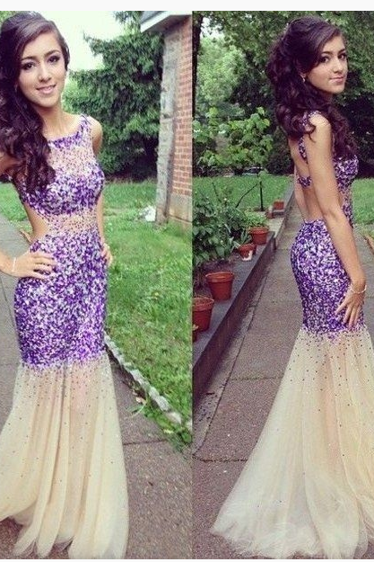 2015 Modern Women Sexy Backless Mermaid Lace Long Evening Dress prom dresses graduation dressesFashion Women Beading Backless Sexy Long Prom Dress wedding party dresses
