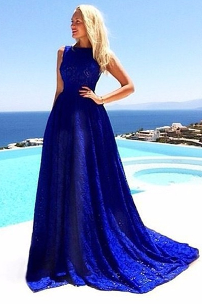 Hote sale Sexy A-line Bridesmaid Dresses Lace sitan Sweetheart Party Dresses Floor length motherl dress SEXY Mermaid/Trumpet Lace Prom Dresses Royal BLUE LACE Home coming Dresses Celebrity Dresses