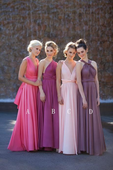 Newest Chiffon Bridesmaid Dresses ,The Charming Floor-Length Bridesmaid Dresses, Bridesmaid Dresses, Real Made Bridesmaid Dress, Bridesmaid Dresses For Wedding