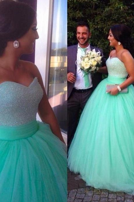 2016 Luxury WEDDING DRESSES ,Eveing Dresses, SEXY Wedding Gown Tulle A-Line Prom Dress ,Long A-Line DRESSES ,BLUE Evening PARTY DRESSES