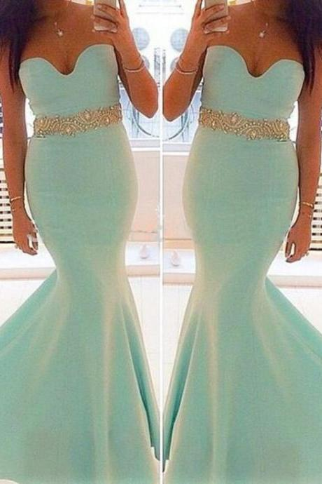 Long Prom Dress Sweet Heart Prom Dress Prom Dress Blue Prom Dress Mermaid Prom Dress Party Dress Handmade Dress