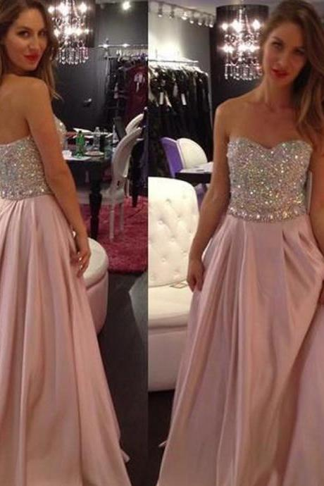 Evening Dresses 2015,Blush Evening Dresses, Evening Gowns, Red Carpet Dresses 2015,Long Prom Dresses, Formal Gowns,Party Dresses