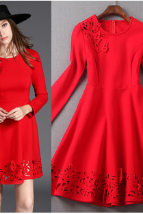 Three-Dimensional Embroidery Dress LYY