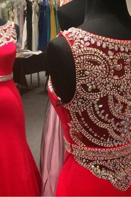 Red Prom Dress Off Shoulder Prom Dress Prom Dress 2015 Cheap Prom Dress Sparkly Prom Dress Modest Prom Dress Handmade Prom Dress