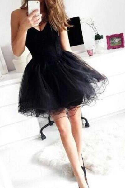 Ulass Short Graduation Dress,Tulle And Chiffon Graduation Dress,Sweetheart Graduation Dress,Dress For Graduation 2015 New Arrival