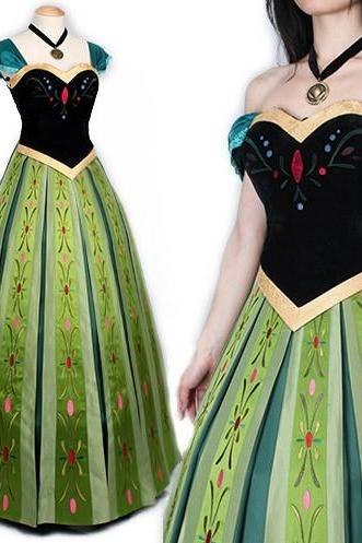 Cosplay Coronation Costume