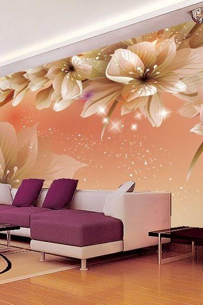 3D Wallpaper Bedroom Mural Roll Modern
