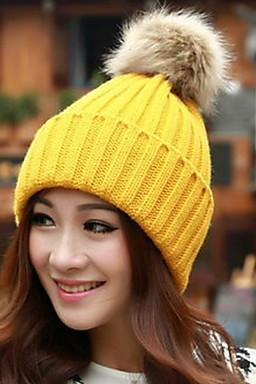 Women Candy Color Hat Edge Earmuffs Hat for 2015 winter