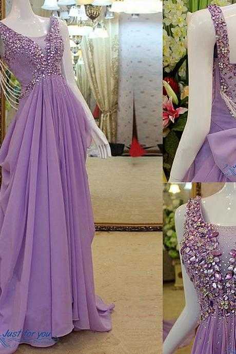 Custom Prom Dress,New Fashion Prom Dress,Prom Dresses 2015 Luxury Prom Dress Sexy Prom Dress A Line Prom Dress Beaded Prom Dress Unique Prom Dress Sequins Prom Dress Long Prom Dress Lavender Prom Dress Chiffon Prom Dress Dress For Prom